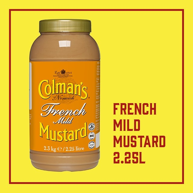 Click to go to Colman's French Mustard