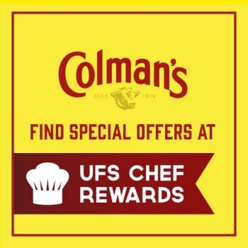 Click to go to Colman's UFS Chef Rewards