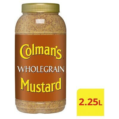 COLMAN'S Wholegrain Mustard 2.25L -