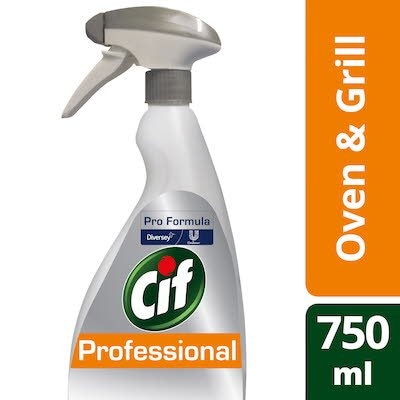 Cif Pro Formula Oven & Grill Cleaner Spray 750ml