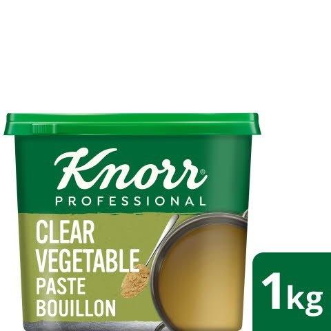 Knorr® Professional Clear Vegetable Paste Bouillon 1kg -