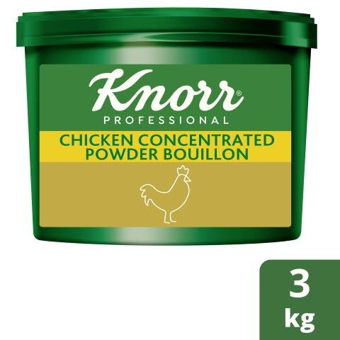 Knorr® Professional Concentrated Chicken Bouillon Powder 3kg -