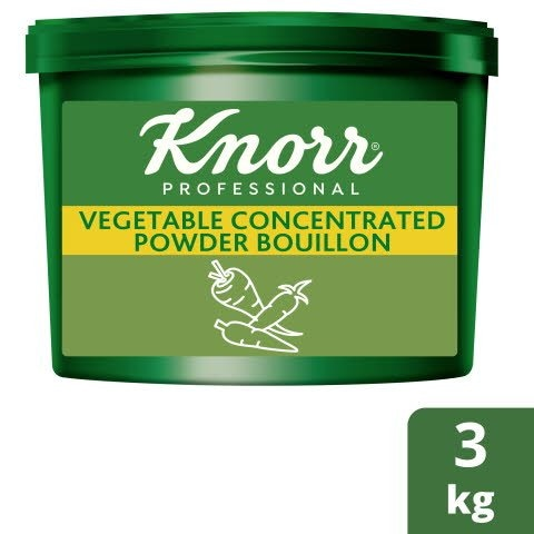 Knorr® Professional Concentrated Vegetable Powder Bouillon 3kg -