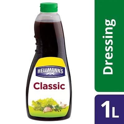 HELLMANN'S Classic Vinaigrette Dressing 1L -