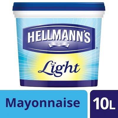 HELLMANN'S Light Mayonnaise 10L -