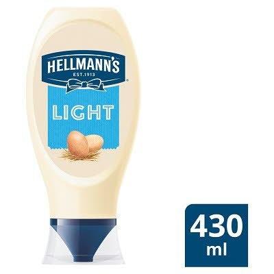 Hellmann's Light Squeezy Mayonnaise 430ml -
