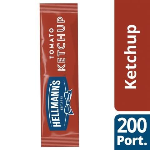 Hellmann's Tomato Ketchup 198 x 10ml Portions -