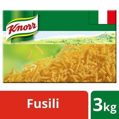 Knorr Pasta Fusilli Spirals 3kg -
