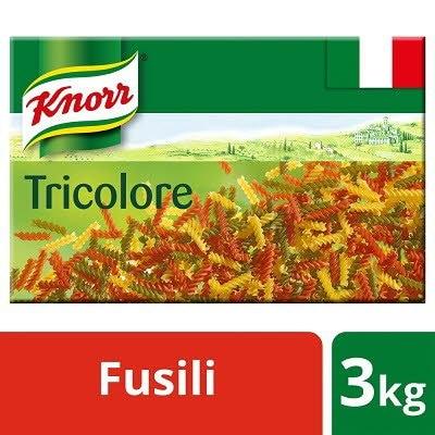 Knorr Pasta Fusilli Tricolore 3kg -