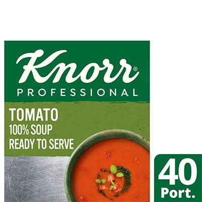 Knorr Professional 100% Soup Tomato 4x2.5kg -