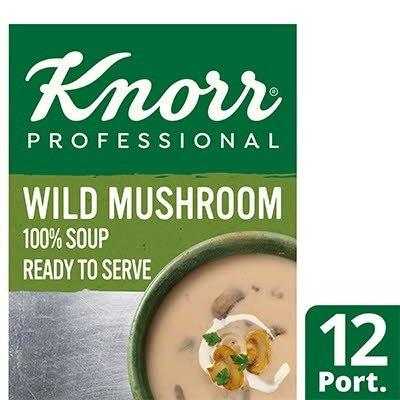 Knorr Professional 100% Soup Wild Mushroom 12 Port -