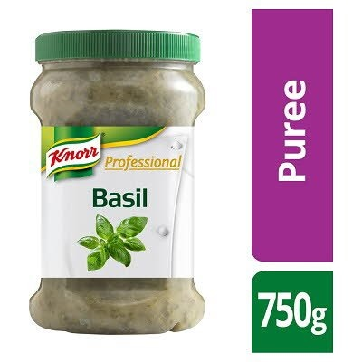 KNORR Professional Basil Puree 750g -