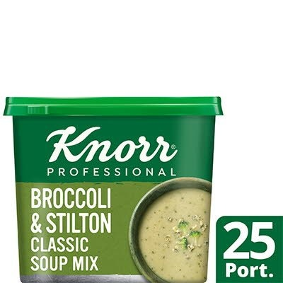 Knorr Professional Classic Broccoli & Stilton Soup 25 Port -