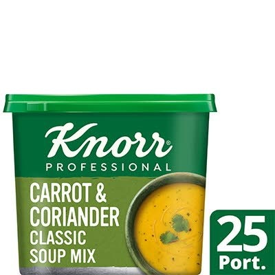 Knorr Professional Classic Carrot & Coriander Soup 25 Port -
