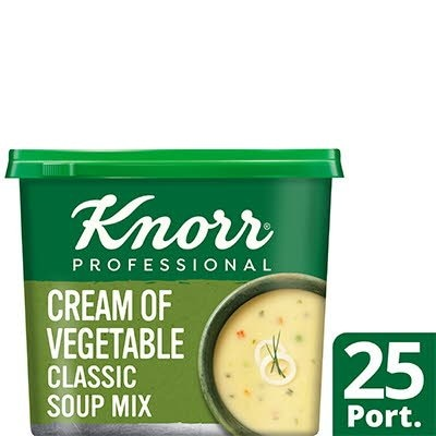 Knorr Professional Classic Cream of Veg Soup 25 Port -