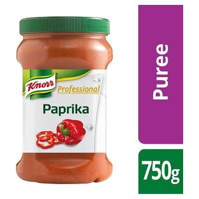 KNORR Professional Paprika Puree 750g -