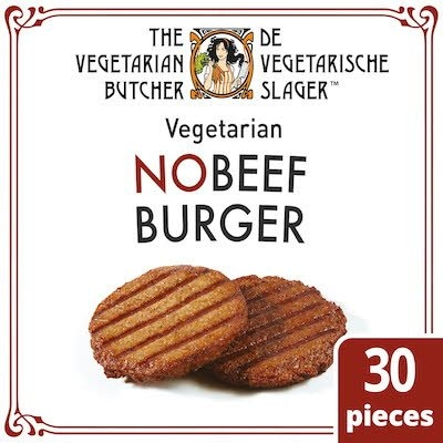 The Vegetarian Butcher NoBeef Burger 2.4kg -