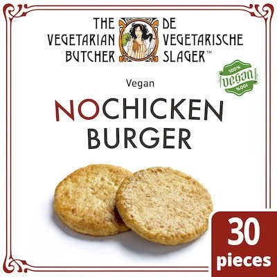 The Vegetarian Butcher NoChicken Burger 2.4kg -