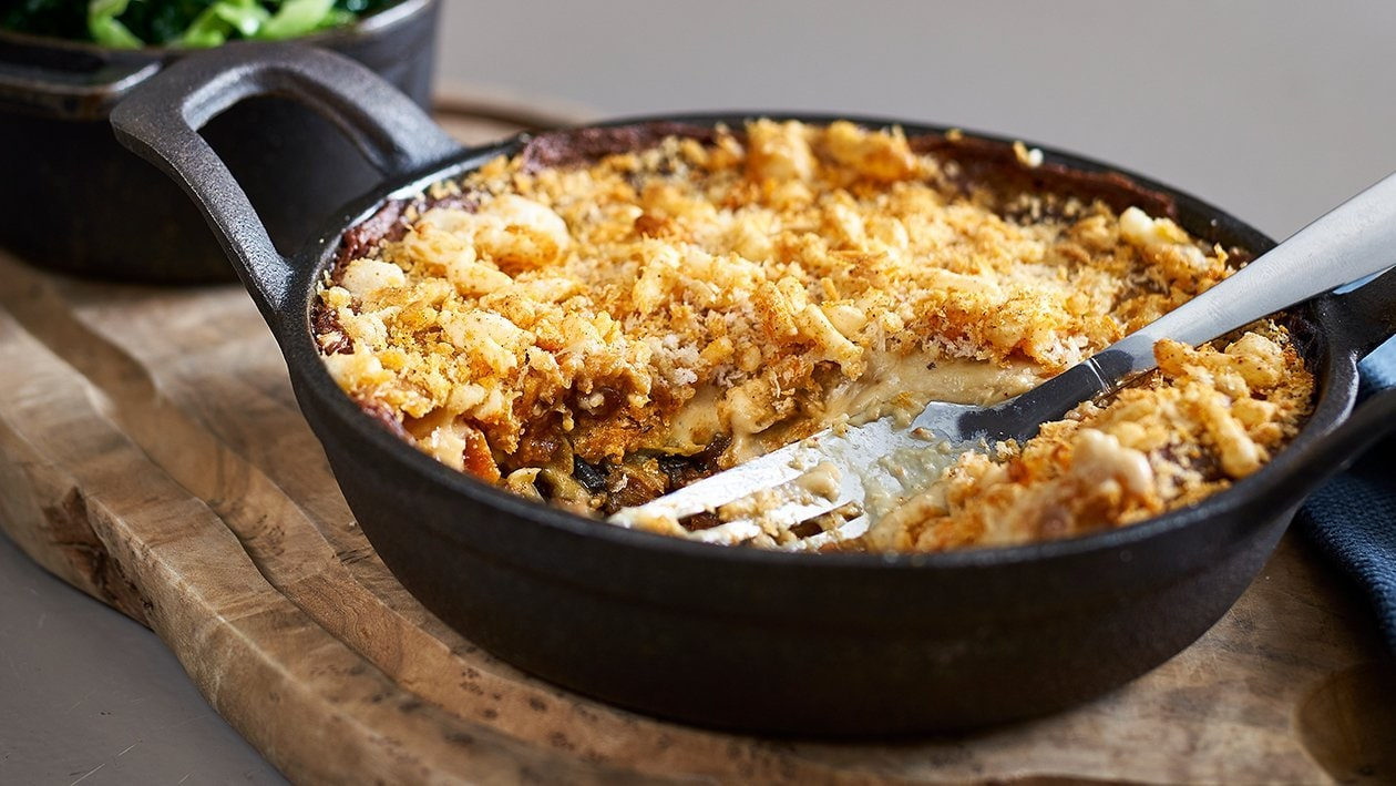 """Spiked"" Lentil Moussaka – recipe"