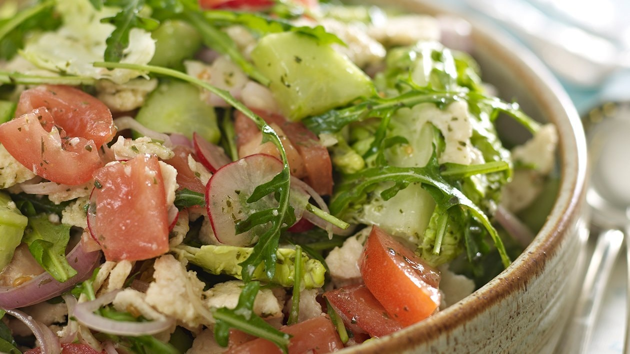 Fattoush salad  – recipe