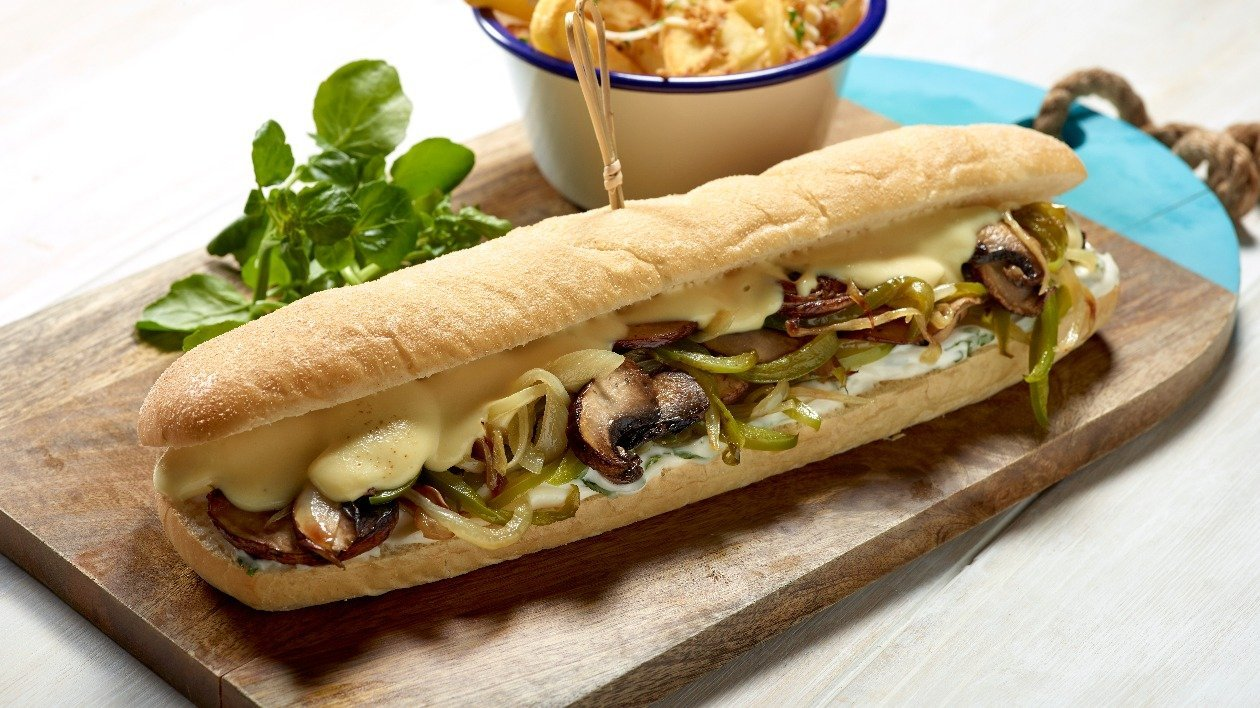HELLMANN'S Philli 'Cheesesteak' – recipe