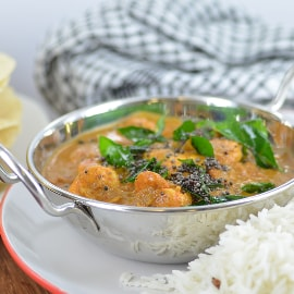 Eastern India - Andra Prawn Curry